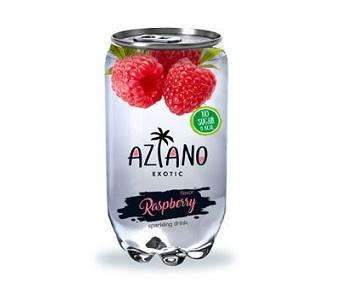 Напиток Aziano Малина б/а 350мл пл/б
