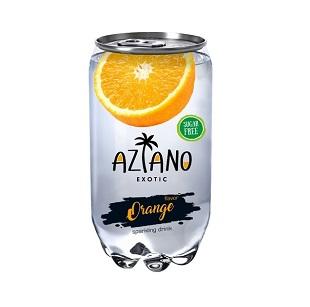 Напиток Aziano Оранж б/а 350мл пл/б