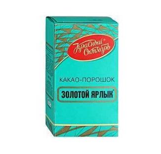 Какао Золотой Ярлык 100г