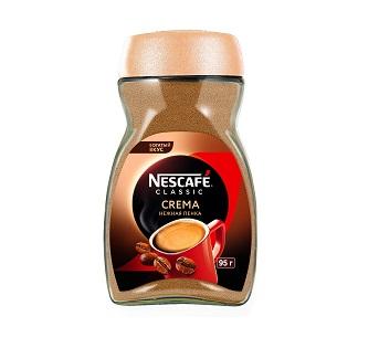 Кофе Нескафе классик Крема 95г ст/б