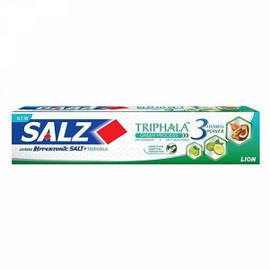 Паста/з SALZ LION с гипертонич.солью и трифалой 90г