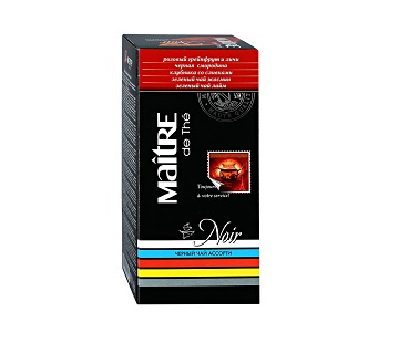 Чай Мэтр черный ассорти 25пак.
