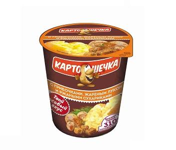 Пюре Картошечка с грибами и луком 50г т/с