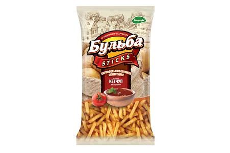 Соломка картофельная Бульба Sticks кетчуп  75г
