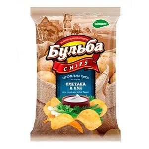 Чипсы Бульба сметана/лук  75г