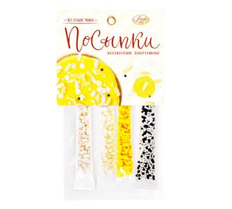 Посыпки кондитерские Желтый  Микс 20г  Парфэ Декор