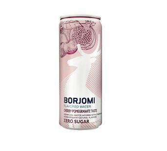 Напиток Боржоми вишня-гранат 0,33л ж/б