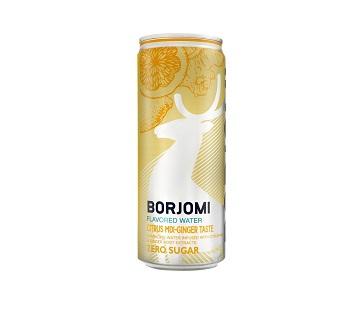 Напиток Боржоми цитрус-имбирь  0,33л ж/б