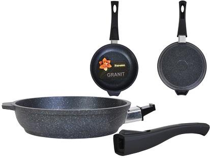 Сковорода Гранит Black 180мм 018802