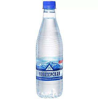 Вода Новотерская н/газ 0,5л