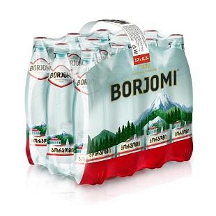 Вода Боржоми 0,5л*12шт ПЭТ упаковка