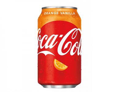 Напиток Coca-Cola Orange Vanilla 0,355л ж/б США